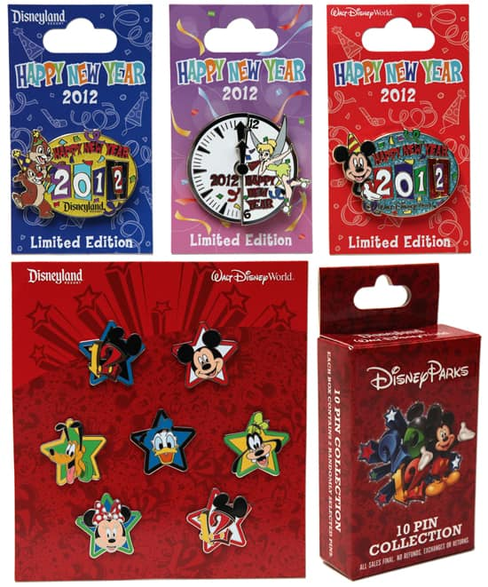 Limited Edition Disney Pins Available at Disney Parks