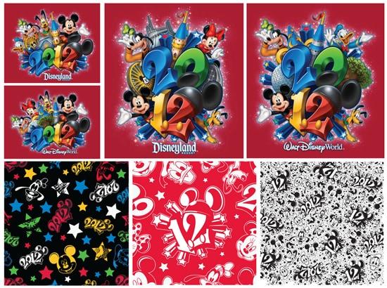 Artwork Featured on 2012 Merchandise at Disney Parks