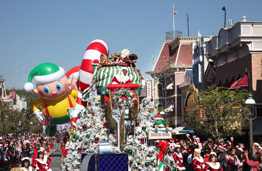 Look Inside The Disney Parks Christmas Day Parade Taping Disney