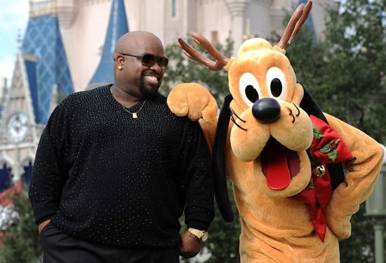 Cee Lo Green with Pluto at Walt Disney World Resort Taping of 'Disney Parks Christmas Day Parade'
