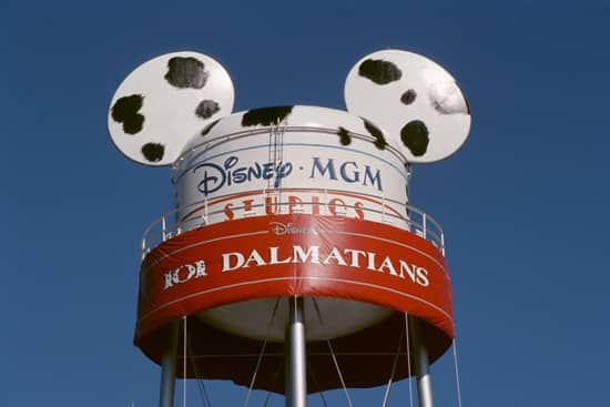 Earffel Tower at Disney's Hollywood Studios Altered to Celebrate the Opening of Walt Disney Pictures Live Action 101 Dalmatians