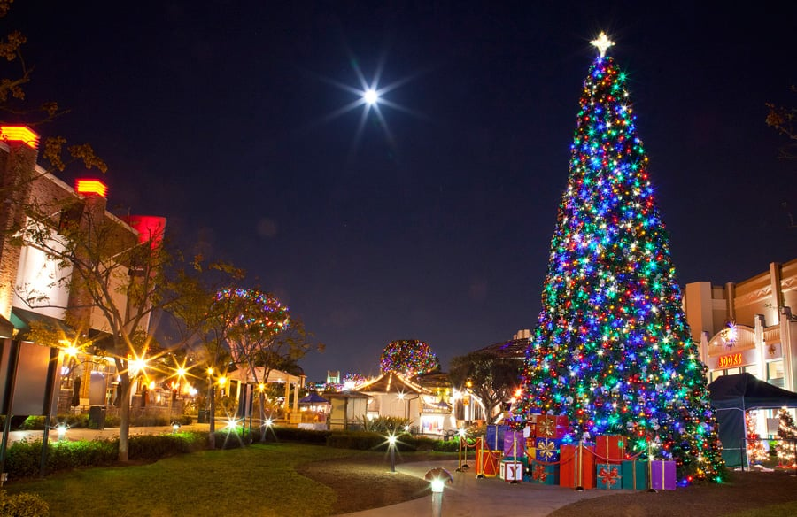 celebrate the holidays at the downtown disney district at disneyland resort - Downtown Disney Christmas