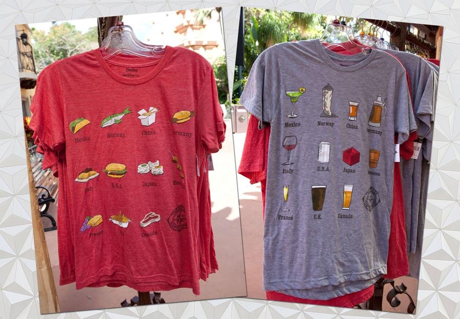 4c4bbb94 Shirts Showcase the World at Epcot | Disney Parks Blog