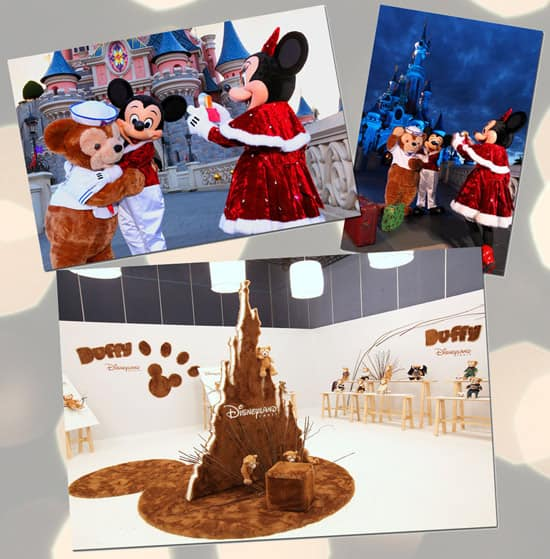 Duffy The Disney Bear Arrives at Disneyland Resort Paris for the Disney Enchanted Christmas Celebration