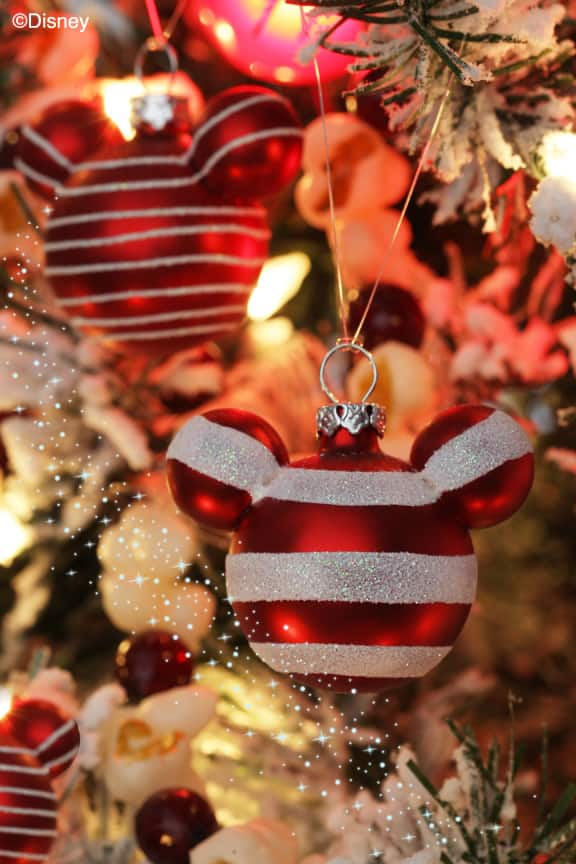 mickey mouse ornament for your christmas tree available from disney floral gifts - Disney Themed Christmas Decorations