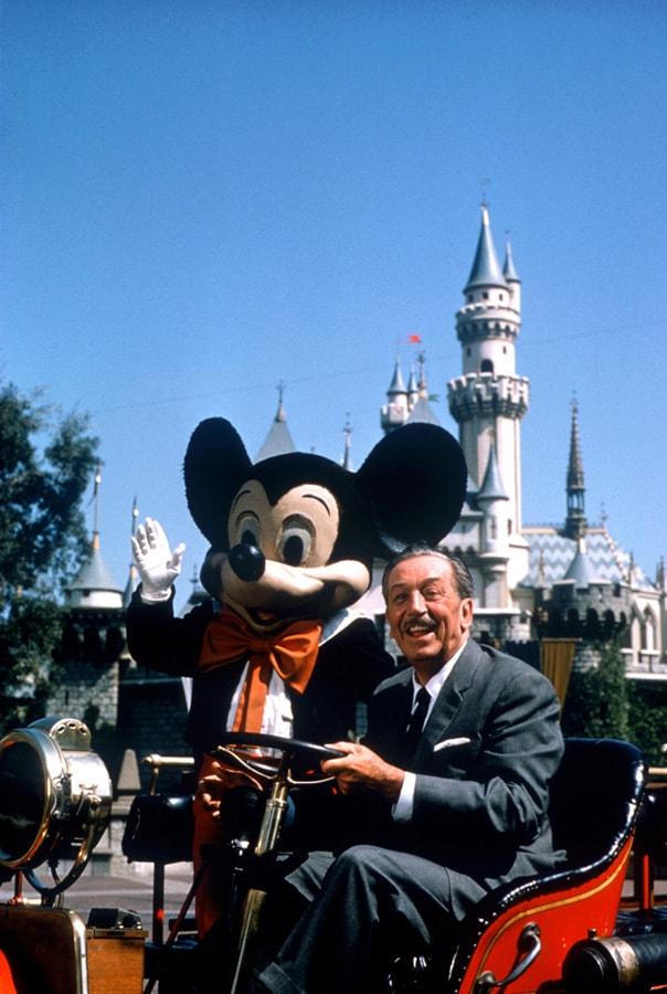 The Last Photo Of Walt Disney At Disneyland Park Disney Parks Blog