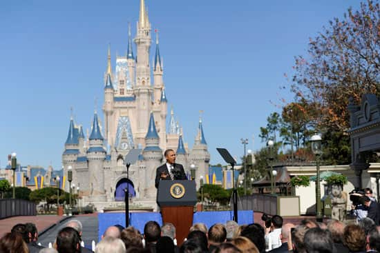 Speaking to a crowd at Walt Disney World Resort, President Barack Obama unveiled plans to increase international visitation and make the United States the world's top travel destination.