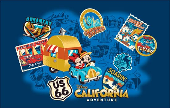 New Merchandise Coming to Disney California Adventure Park, Inspired by Fabled Treks Across Route 66 with Mickey and Minnie Mouse