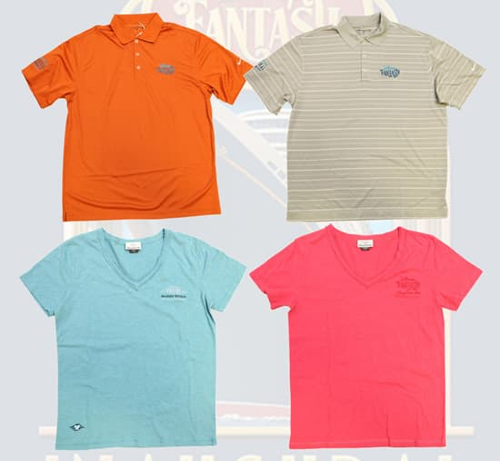 Golf-Style Shirts Available for Pre-Sell for Guests Sailing on the Maiden Voyage of the Disney Fantasy