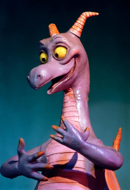 Figment, the Mascot of Imagination! Pavilion at Epcot