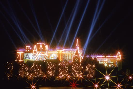 The First Version of IllumiNations as seen in the Germany Pavilion