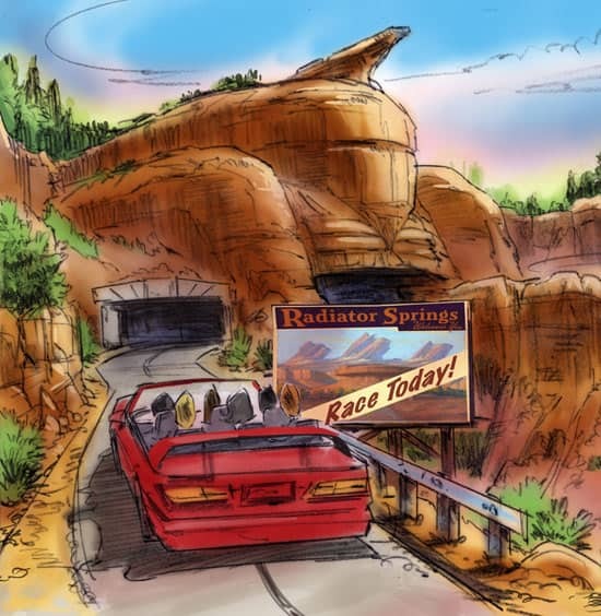 Radiator Springs in Cars Land Coming to Disney California Adventure Park
