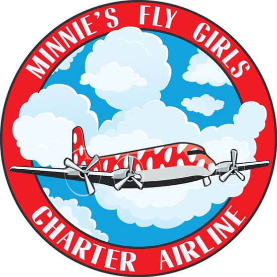 Guests Can Take Flight with Minnie Mouse During 'Minnie's Fly Girls Charter Airline' Show at Disney California Adventure Park, Coming February 17