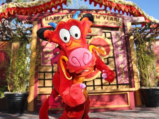 Mushu from Disney's 'Mulan'