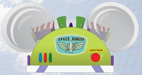 Buzz Lightyear-themed Disney Ear Hat Coming to Disney Parks This Fall