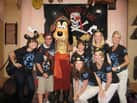 Nate Shows Off His Pirates League Makeover with Some Fellow Cast Members