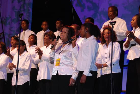 In Honor of Black History Month, Southern California Choirs Celebrate Gospel at Disney California Adventure park.