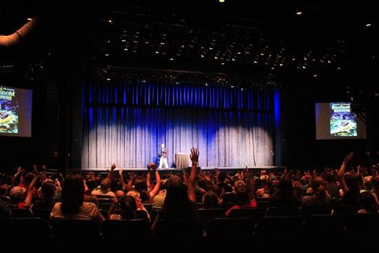 Author Ridley Pearson Gives a Special Presentation at Disney Homeschool Days at Walt Disney World Resort.