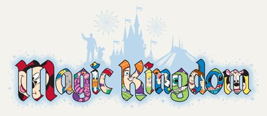Magic Kingdom Name Filled with Disney Characters
