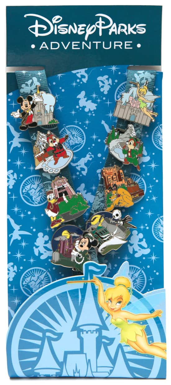 Exclusive Pin Starter Set Available on the Disney Parks Online Store
