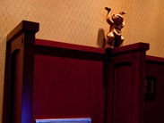 Menehune Spotted in the Telephone Booth at Aulani, a Disney Resort & Spa