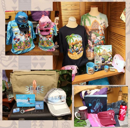 Different Merchandise Styles at Aulani, a Disney Resort & Spa