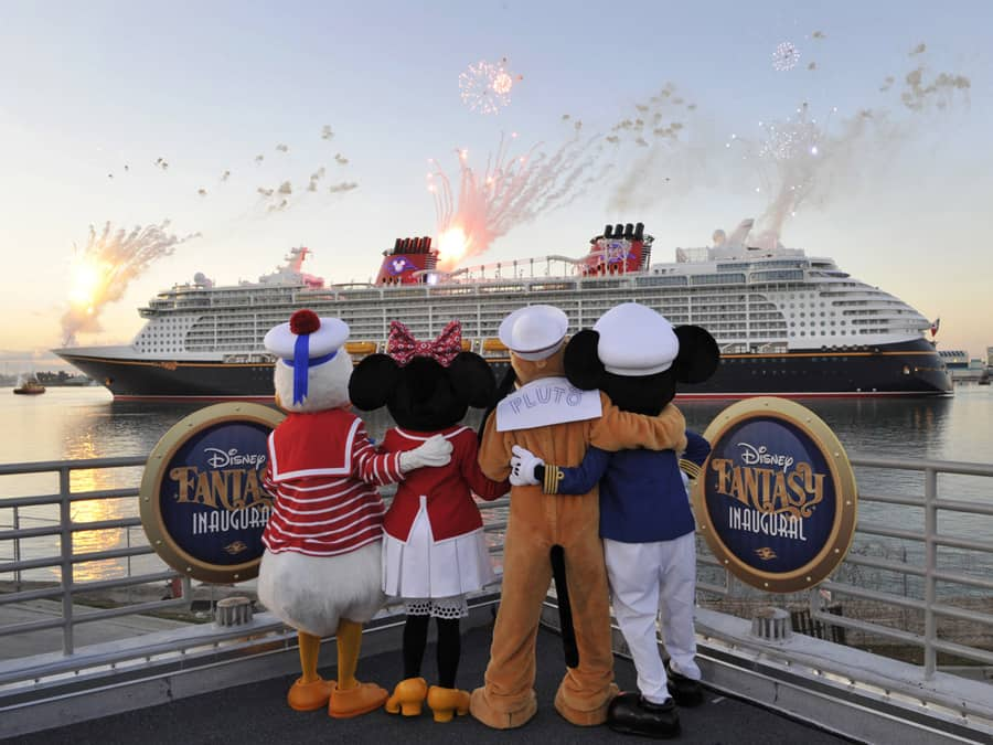 Disney Fantasy Arrives In Port Canaveral Disney Parks Blog