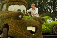 Mater Gets a Tune Up Just in Time for the Epcot International Flower and Garden Festival.
