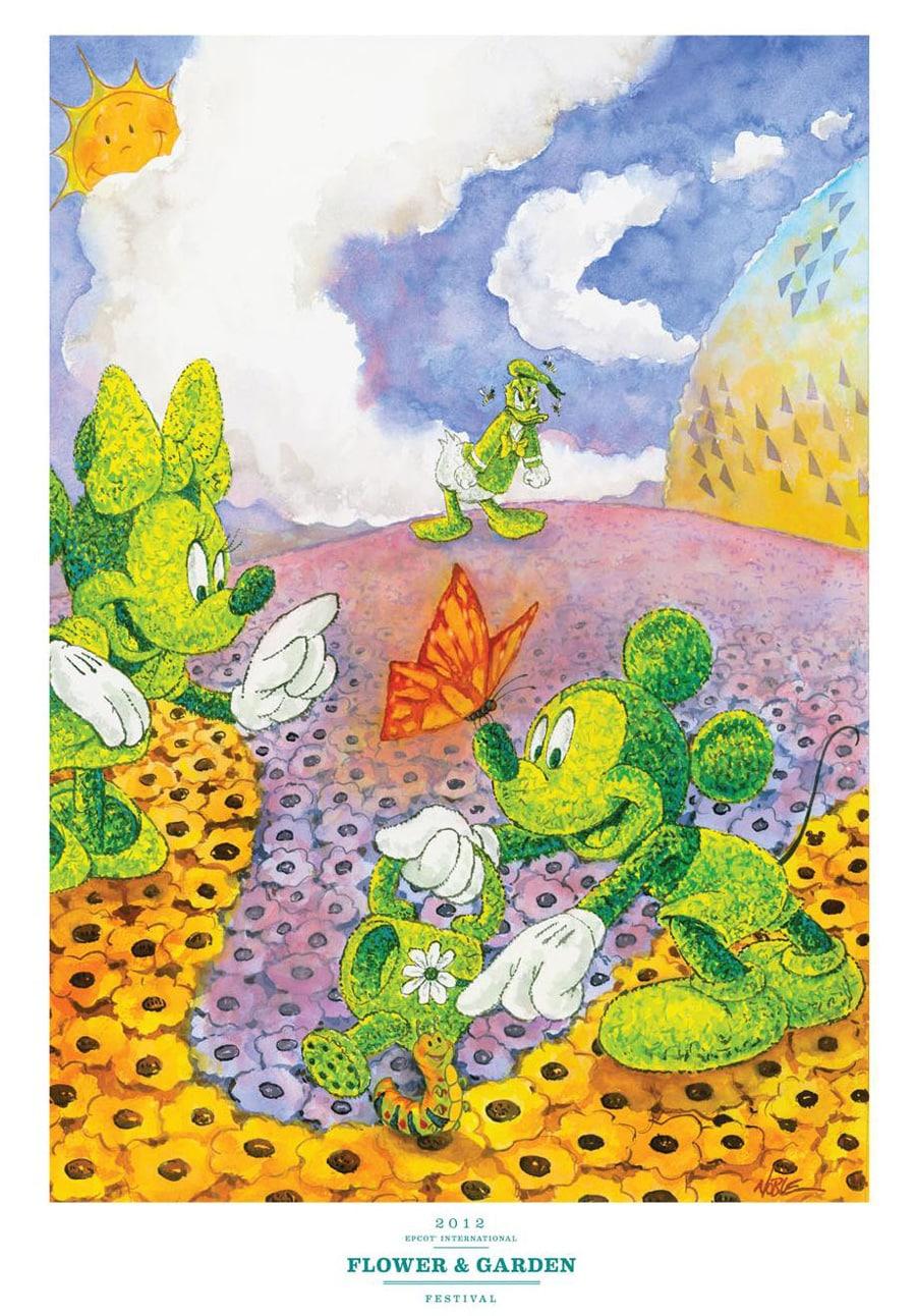 meet disney artist randy noble at the epcot international flower