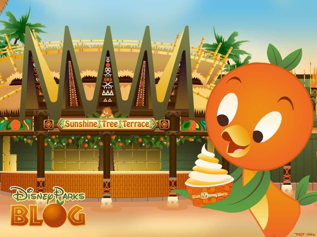 Desktop Wallpaper Featuring Orange Bird, Returning Today to Magic Kingdom Park at Walt Disney World Resort