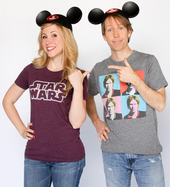 Ashley Eckstein and James Arnold Taylor to Serve as Celebrity Hosts for Star Wars Weekends 2012 at Disney's Hollywood Studios
