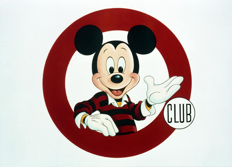 Vintage Walt Disney World Filming The Mickey Mouse Club At