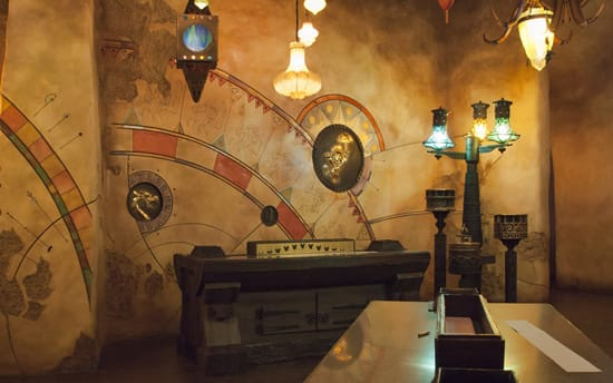 Sorcerer's Workshop Located in the Disney Animation Building at Disney California Adventure Park