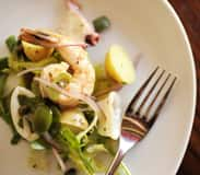 Insalata di Mare Trapanese (Seafood Salad) Available at Tutto Gusto in the Italy Pavilion at Epcot