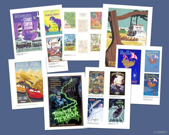 Poster Art in 'Poster Art of the Disney Parks'