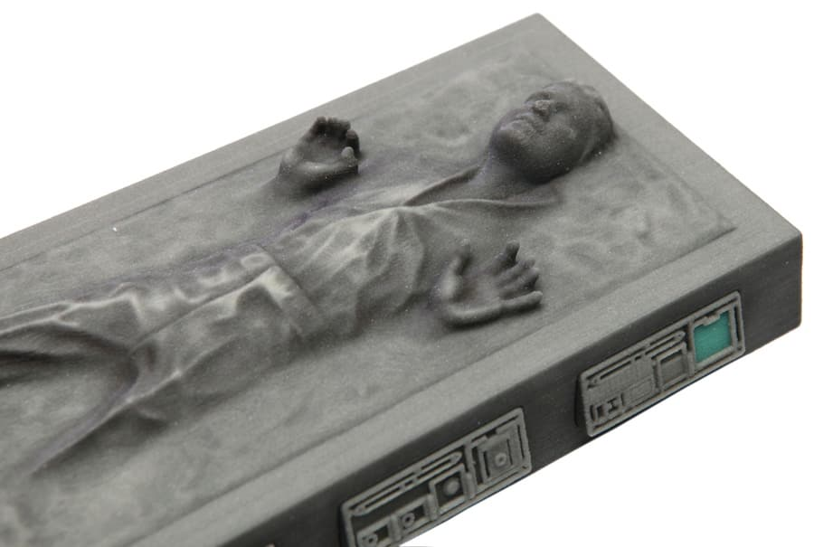 huge discount 41a59 207d2 Cast Yourself in Carbonite with the Carbon-Freeze Me Experience ...