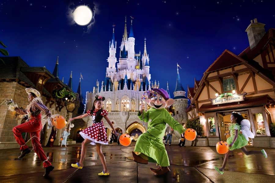Buy Your Tickets for Mickey's Not-So-Scary, Very Merry Events at Walt Disney World Resort, On Sale Now