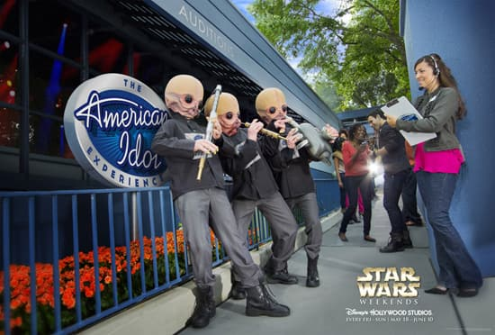 Star Wars Weekends 2012 - The Modal Nodes at the American Idol Experience at Disney's Hollywood Studios