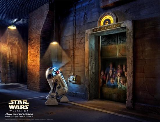 R2-D2 at Star Wars Weekends at Disney's Hollywood Studios