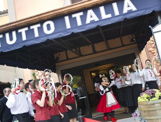 Festivities Begin as Tutto Italia, Tutto Gusto Open at Epcot