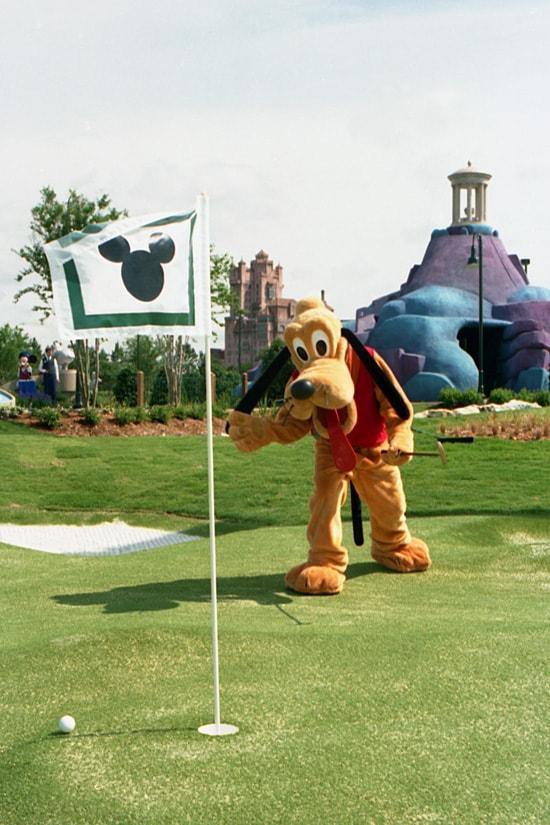 Pluto at Fantasia Gardens and Fantasia Fairways in May 1996
