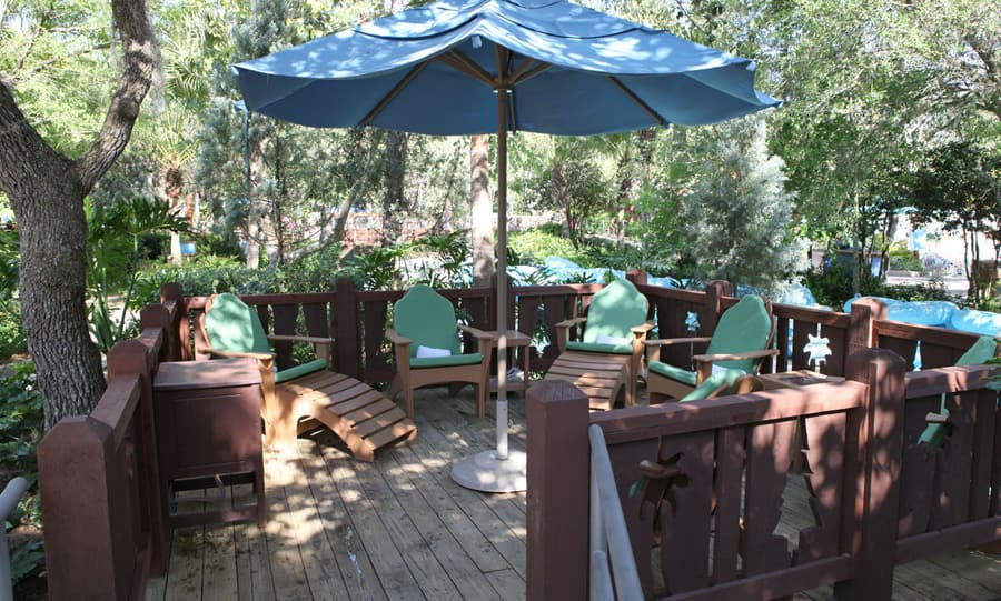 enjoying polar patios at disney s blizzard beach water park disney