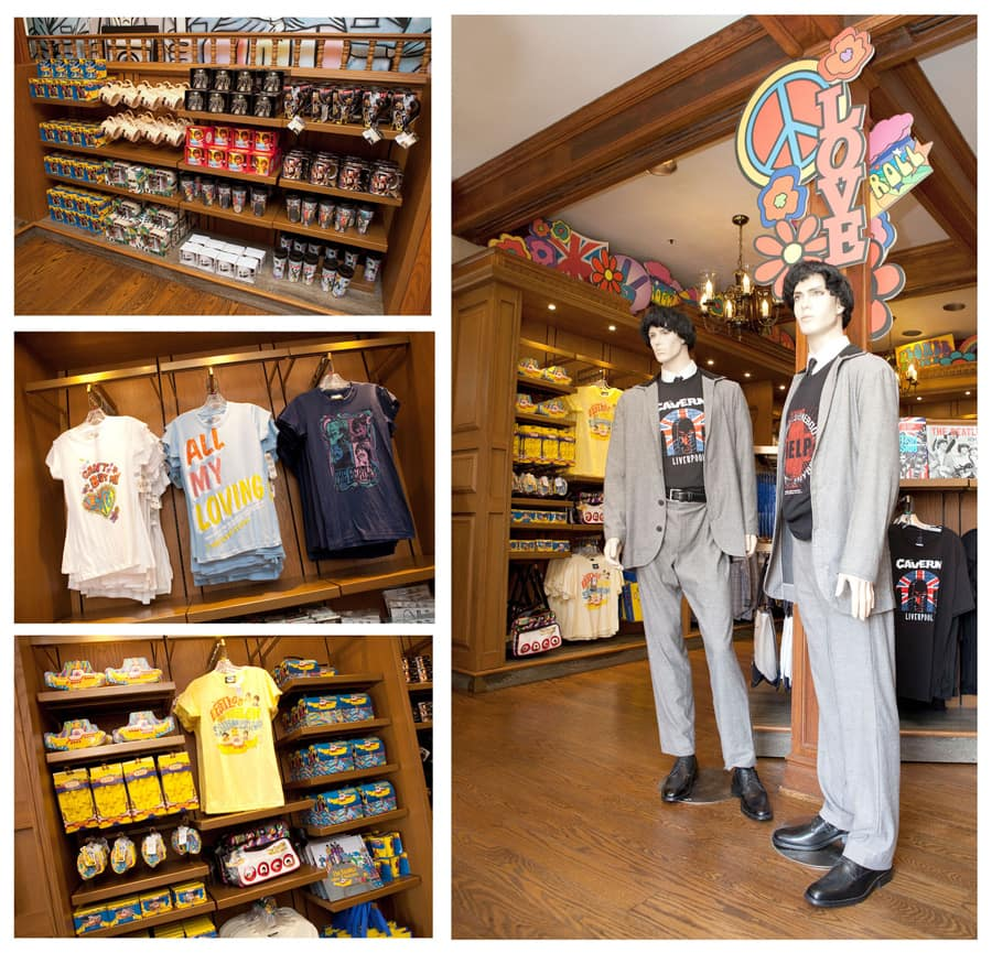 Beatles Merchandise Invades The United Kingdom Pavilion At