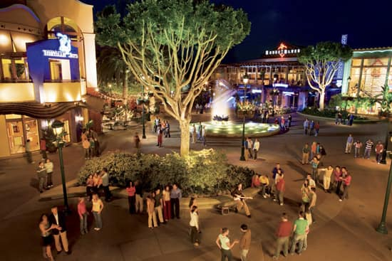 The Downtown Disney District at the Disneyland Resort