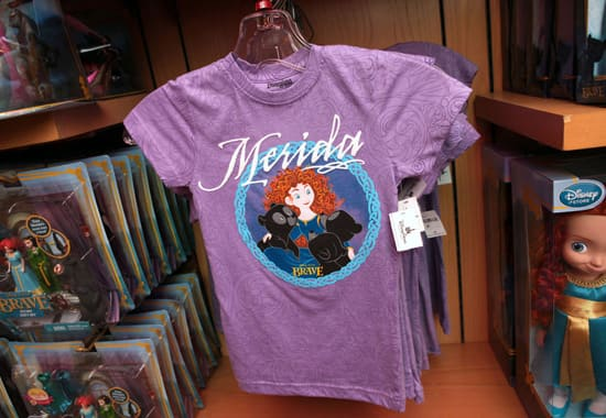 Merida Shirt Available in World of Disney at Downtown Disney