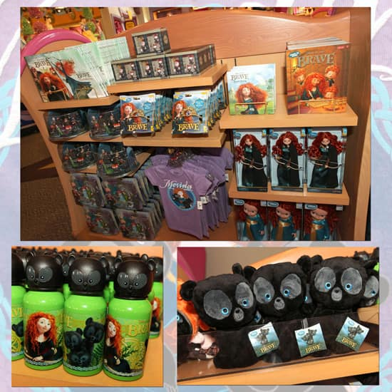 Merchandise from Disney٥Pixar's 'Brave' Available at Disney Parks