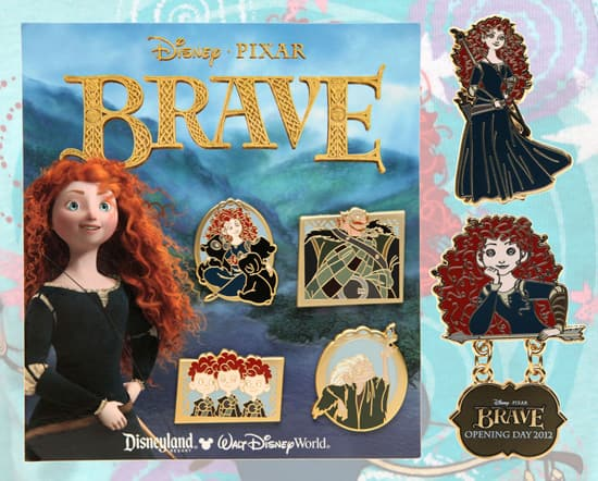 Pins from Disney٥Pixar's 'Brave' Available at Disney Parks