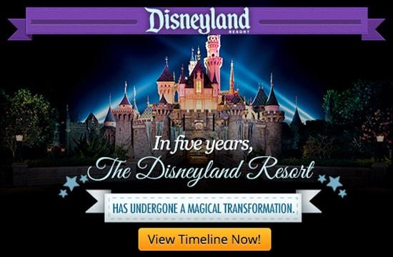 """""""Disneyland Resort Expansion Timeline"""
