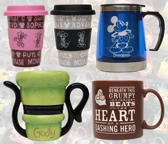 Coffee Mugs Available at Disney Parks