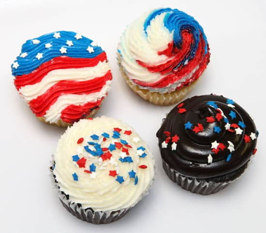 Celebrate Independence Day at Disney Parks with a Patriotic Cupcake